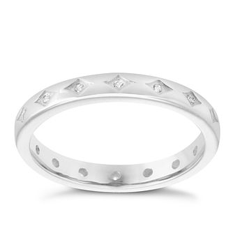Chamilia Starry Eyed Swarovski Zirconia Stacking Ring Small - Product number 3755223