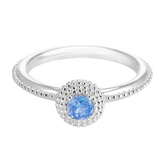 Chamilia Soiree Silver December Birthstone Ring Small - Product number 3755525