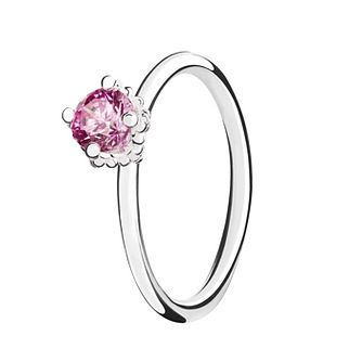 Chamilia Pink Swarovski ZirconiaDiva Stacking Ring XL - Product number 3756084