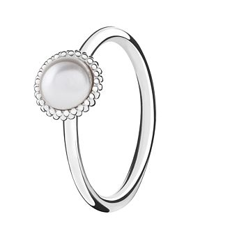 Chamilia Silver Wisdom Pearl Stacking Ring XL - Product number 3756394