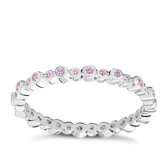 Chamilia Swarovski Zirconia Infinity Stacking Ring XL - Product number 3756475