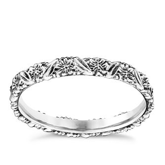 Chamilia Silver Harmony Floral Stacking Ring XL - Product number 3756629