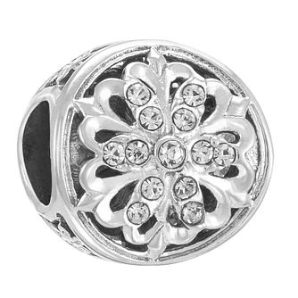 Chamilia Sterling Silver Swarovski Luminous Accent Charm - Product number 3756866