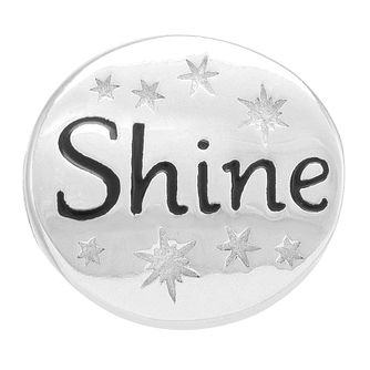 Chamilia Sterling Silver Stone Set Shine Charm - Product number 3756947