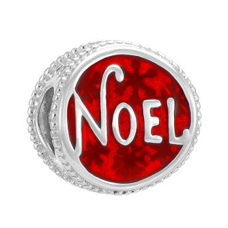 Chamilia Sterling Silver Red Noel Charm - Product number 3756998