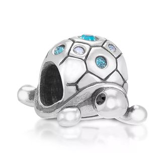 Chamilia Sterling Silver Stone Set Pretty Pokey Bead - Product number 3757307