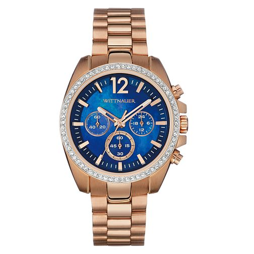 Wittnauer Lucy ladies' rose gold-plated watch - Product number 3760200