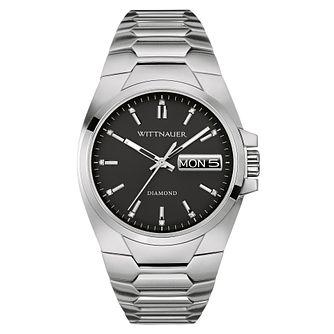 Wittnauer Bordy Men's Stainless Steel Bracelet Watch - Product number 3760677