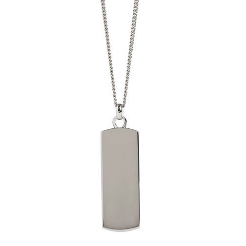 Simon Carter men's stainless steel dog tag necklace - Product number 3761622