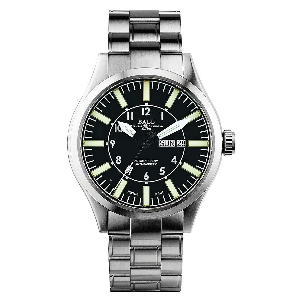 Ball Engineer Master II Aviator Men's Stainless Steel Watch - Product number 3762114