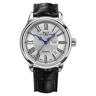 Ball Trainmaster Roman Men's Stainless Steel Watch - Product number 3762335