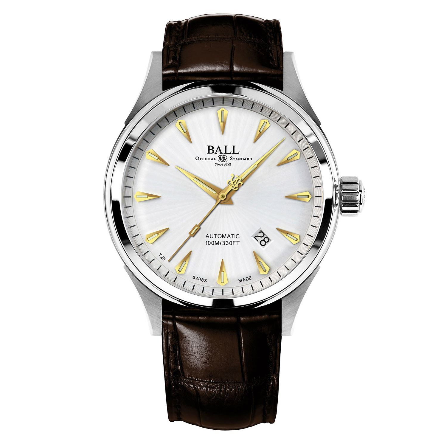 Ball Fireman Racer Classic Men's Stainless Steel Watch - Product number 3762408