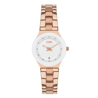 9587660bac0d8 STORM Tesuna Ladies  Rose Gold-Plated Bracelet Watch - Product number  3765555