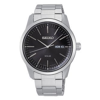 Seiko Solar Men's Stainless Steel Bracelet Watch - Product number 3774716