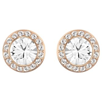 Swarovski Angelic rose gold-plated earrings - Product number 3776654