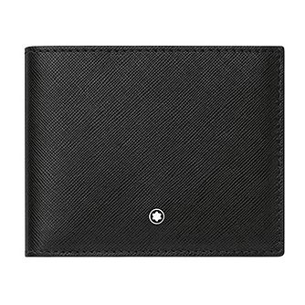 Montblanc black leather six card slot wallet - Product number 3777162