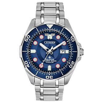 Citizen Marvel Captain America Titanium Bracelet Watch - Product number 3777804