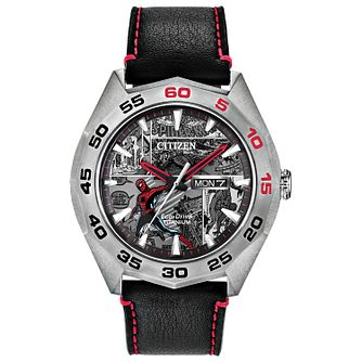 Citizen Marvel Spiderman Limited Edition Black Strap Watch - Product number 3777820