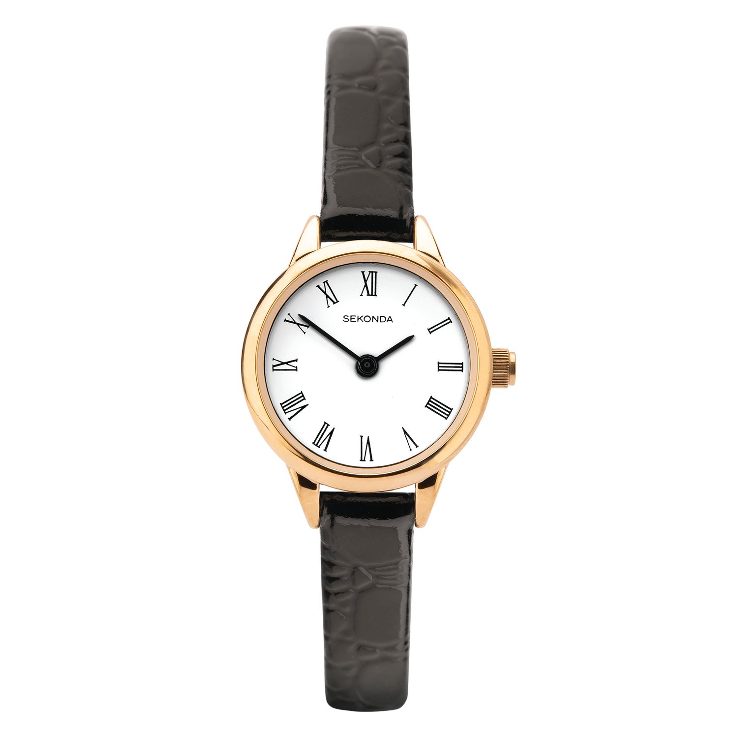 Sekonda Black Leather Strap Watch - Product number 3777901