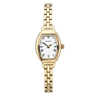 Sekonda Tonneau Gold Tone Bracelet Watch - Product number 3778010