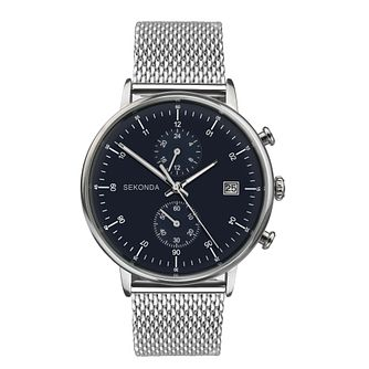 Sekonda Men's Stainless Steel Mesh Bracelet Watch - Product number 3778185