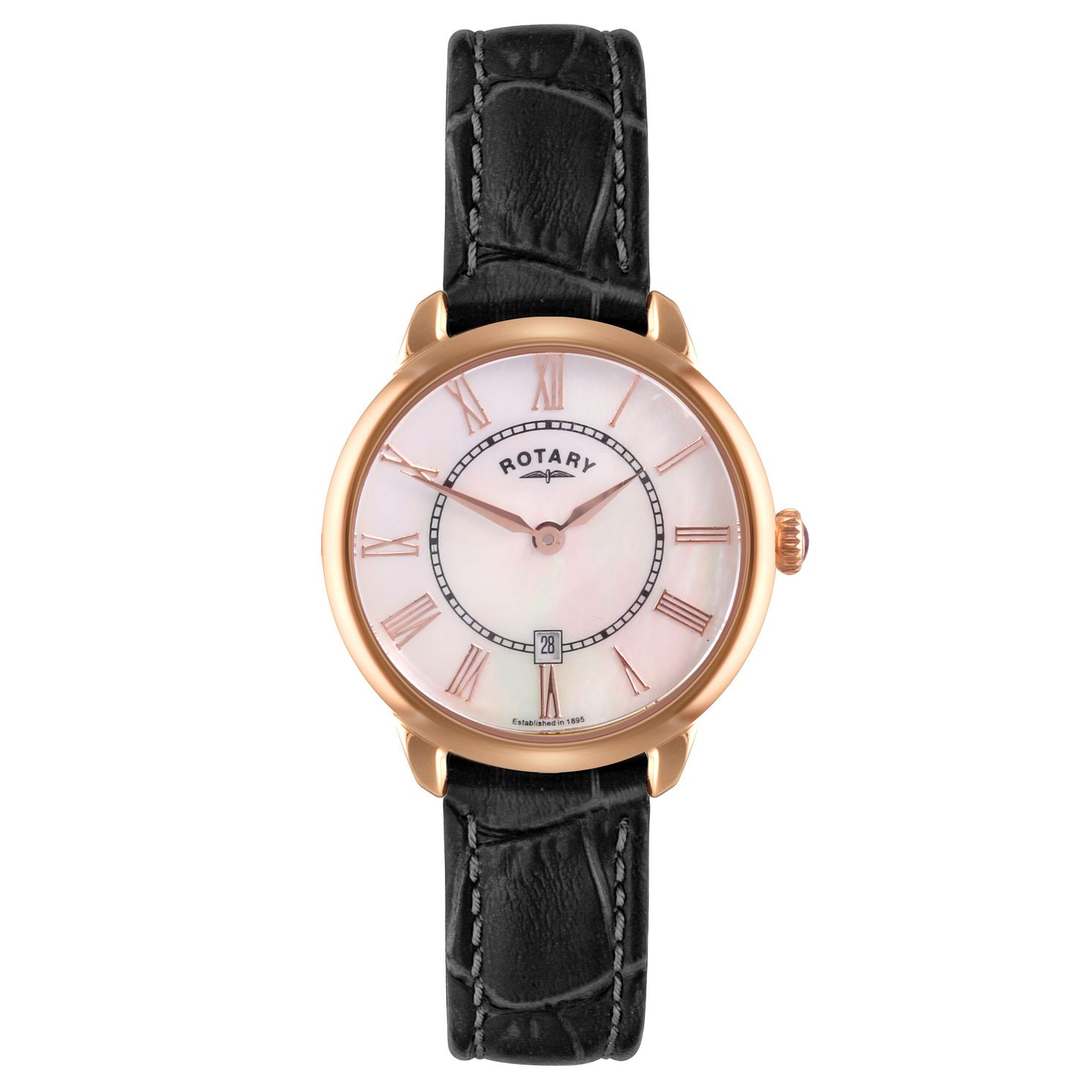 Rotary Ladies' Elise Leather Strap Watch - Product number 3780406