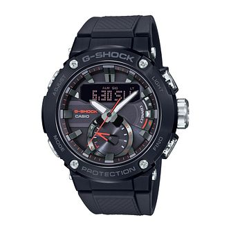 Casio G-Steel Carbon Core Guard Black Resin Strap Watch - Product number 3785777