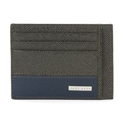 BOSS Signature Men's Green 2C Cardholder - Product number 3789748