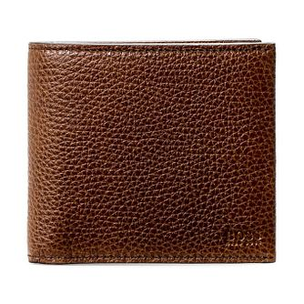 BOSS Men's Brown Leather 8cc Wallet - Product number 3789845