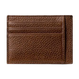 BOSS Men's Brown Leather Cardholder - Product number 3789861