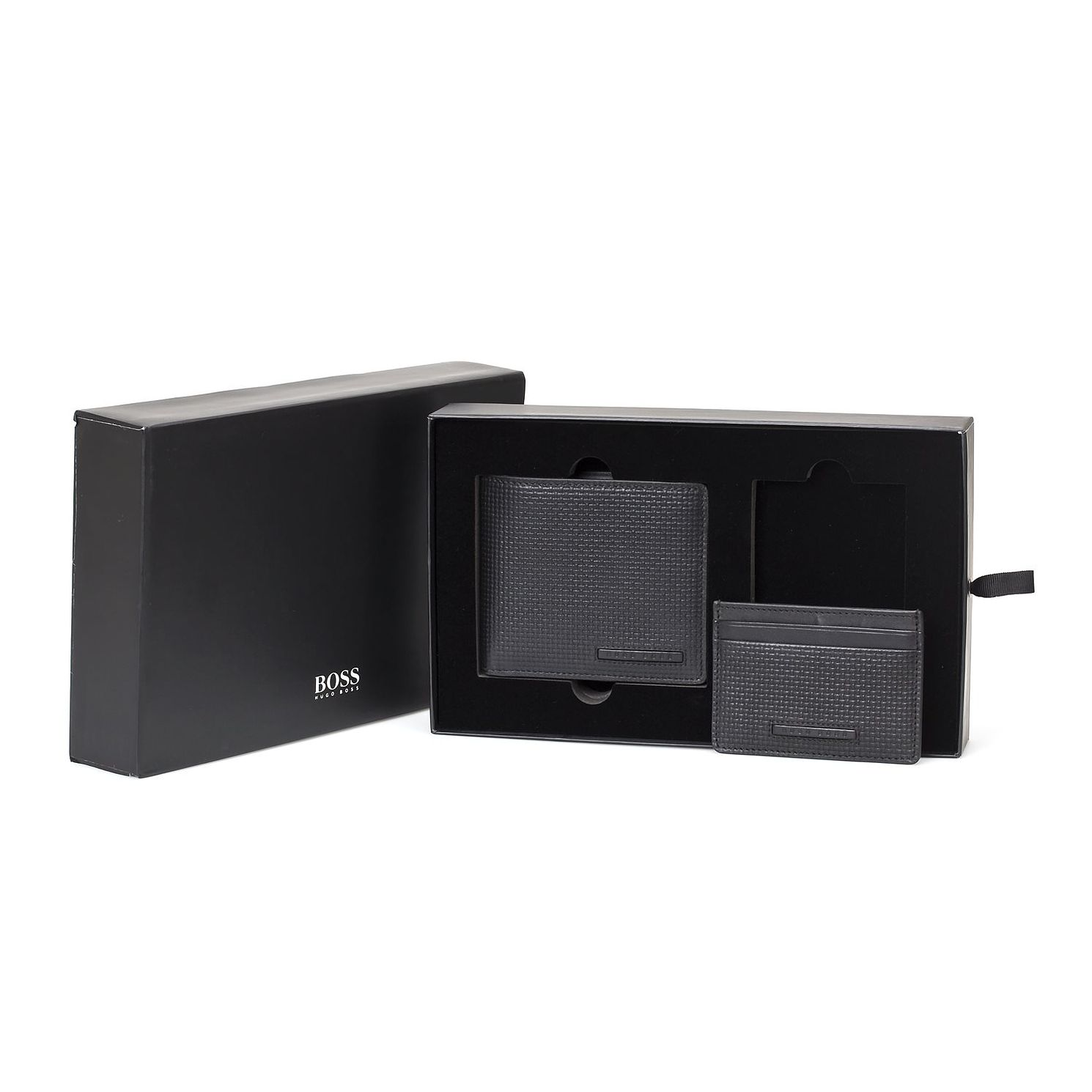 BOSS Men's 8Cc Wallet And Cardholder Gift Set - Product number 3789888