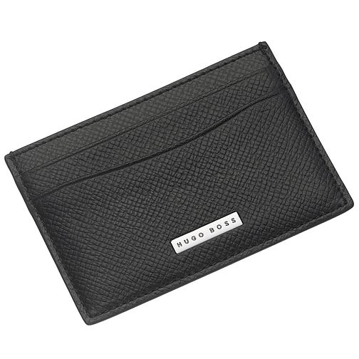 BOSS Black Leather Card Holder - Product number 3796647