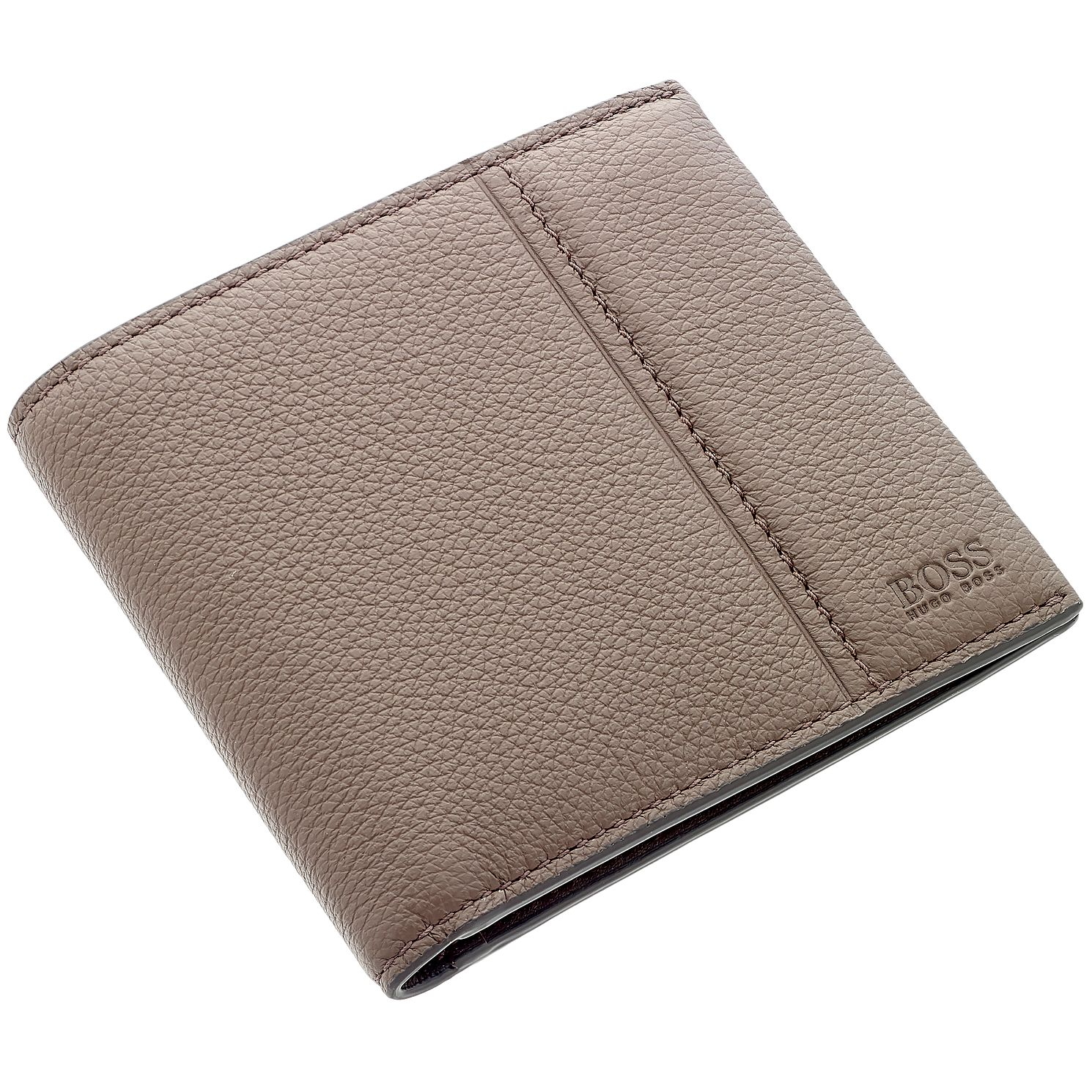 BOSS Brown Leather Travel Wallet - Product number 3796698