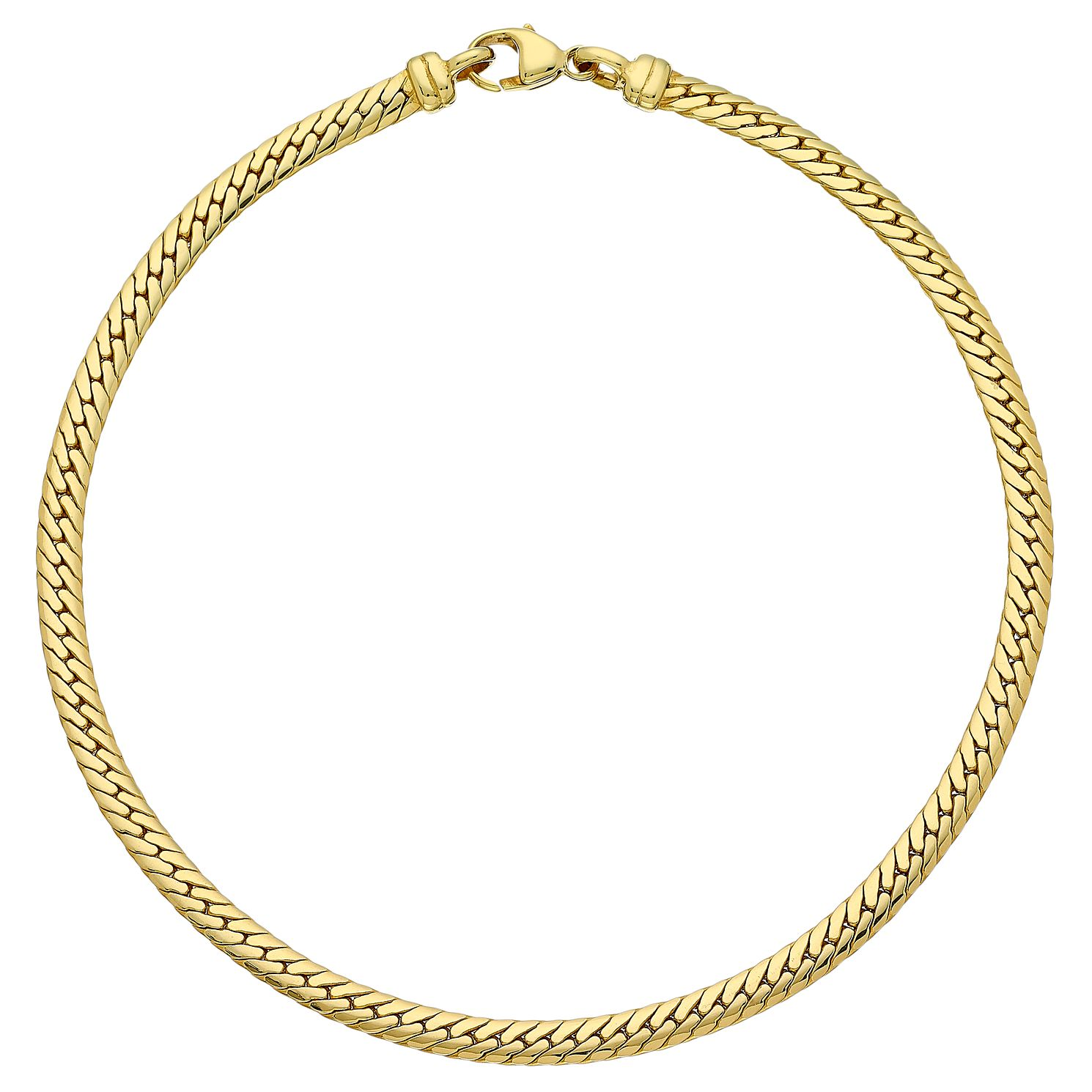 9ct Gold 7.5 inches Snake Chain Bracelet - Product number 3801217