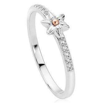 Clogau Gold Sterling Silver & 9ct Gold Daffodil Ring - Product number 3806197