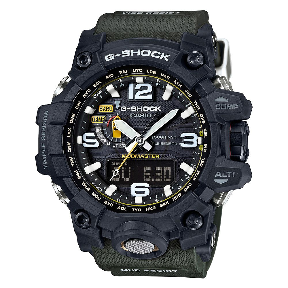 Casio G-Shock Mudmaster Men's Khaki Strap Watch - Product number 3814408