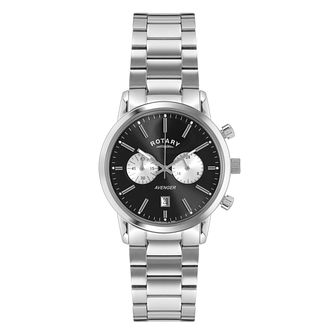 Rotary Avenger men's stainless steel bracelet watch - Product number 3823520