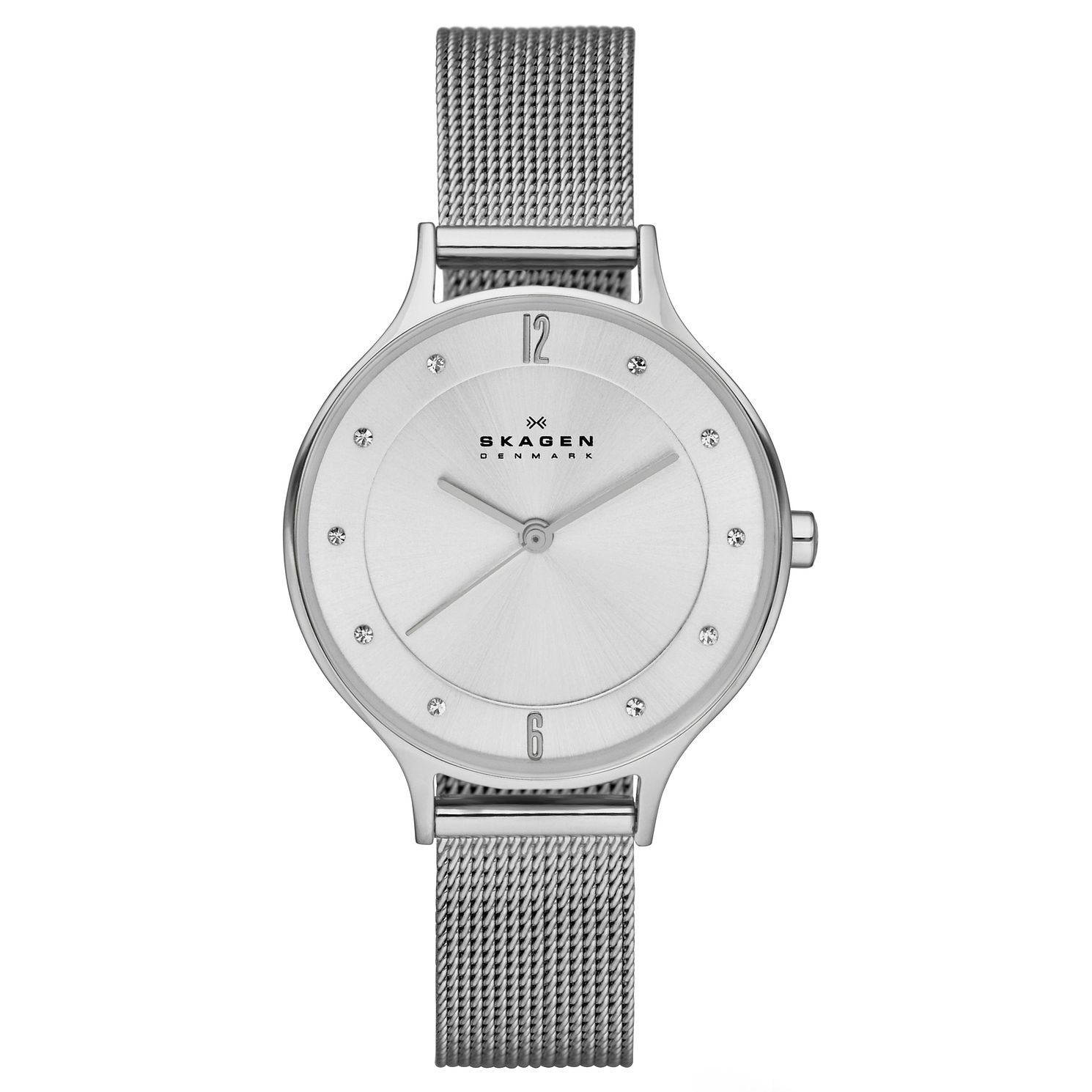 Skagen Anita Ladies' Stainless Steel Mesh Bracelet Watch - Product number 3824659