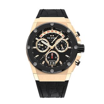 TW Steel ACE Genesis Men's Black Leather Strap Watch - Product number 3830152