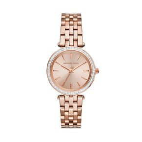 Michael Kors Ladies' Darci Rose Gold Tone Bracelet Watch - Product number 3833879