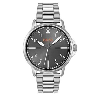 Boss Orange Chicago Men's Stainless Steel Bracelet Watch - Product number 3835766