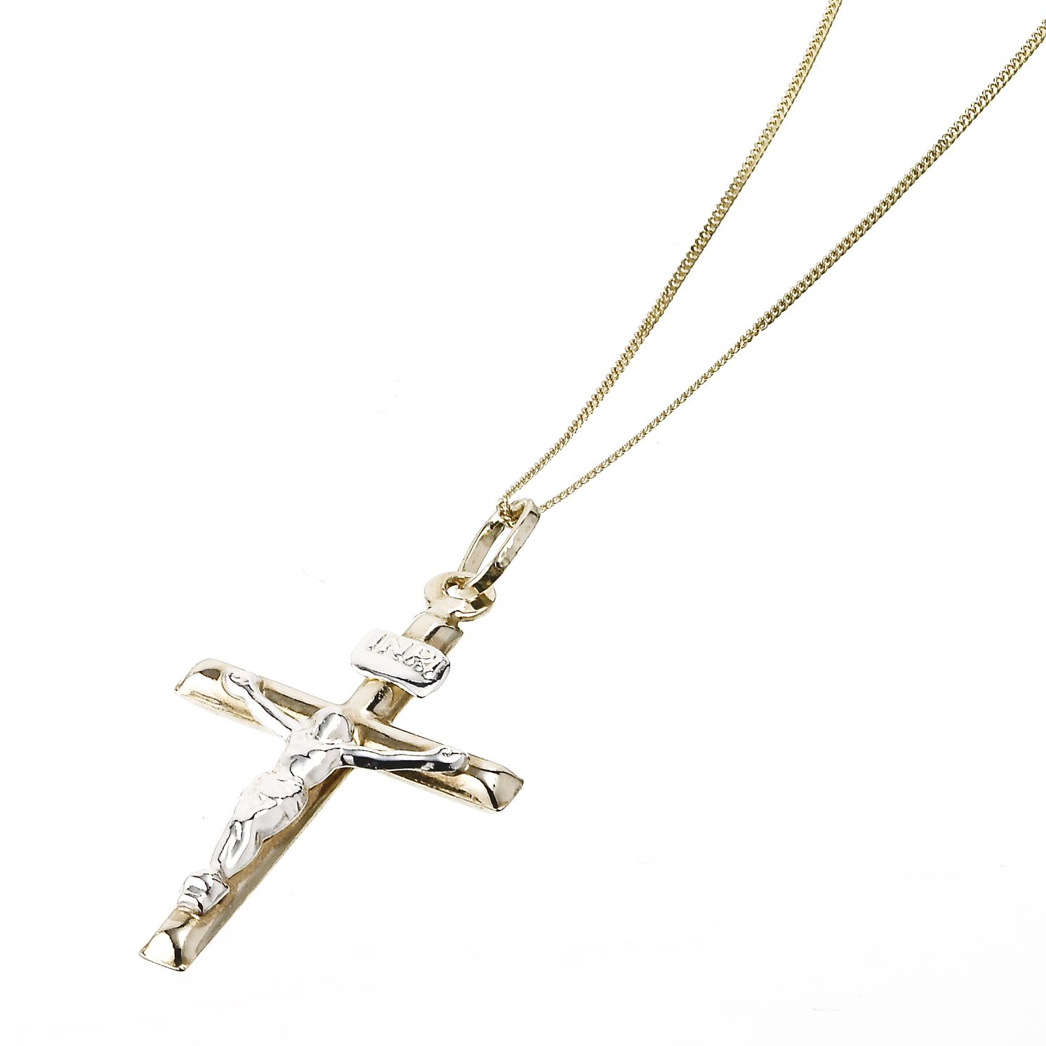 9ct Gold Crucifix - Product number 3838250