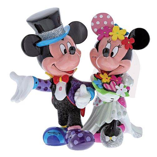 Disney Britto Mickey & Minnie Mouse Wedding Figurine - Product number 3843823