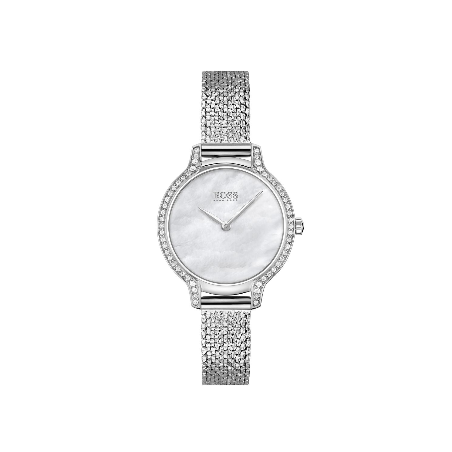 BOSS Gala Crystal Ladies' Stainless Steel Bracelet Watch - Product number 3847446
