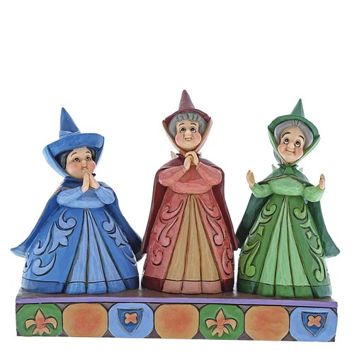 Disney Traditions Royal Guests Three Fairies Figurine - Product number 3850099