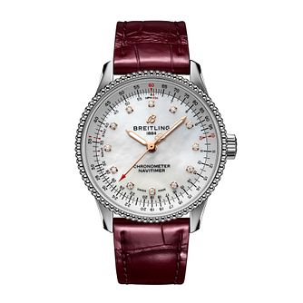 Breitling Navitimer Automatic 35 Ladies' Bracelet Watch - Product number 3863360