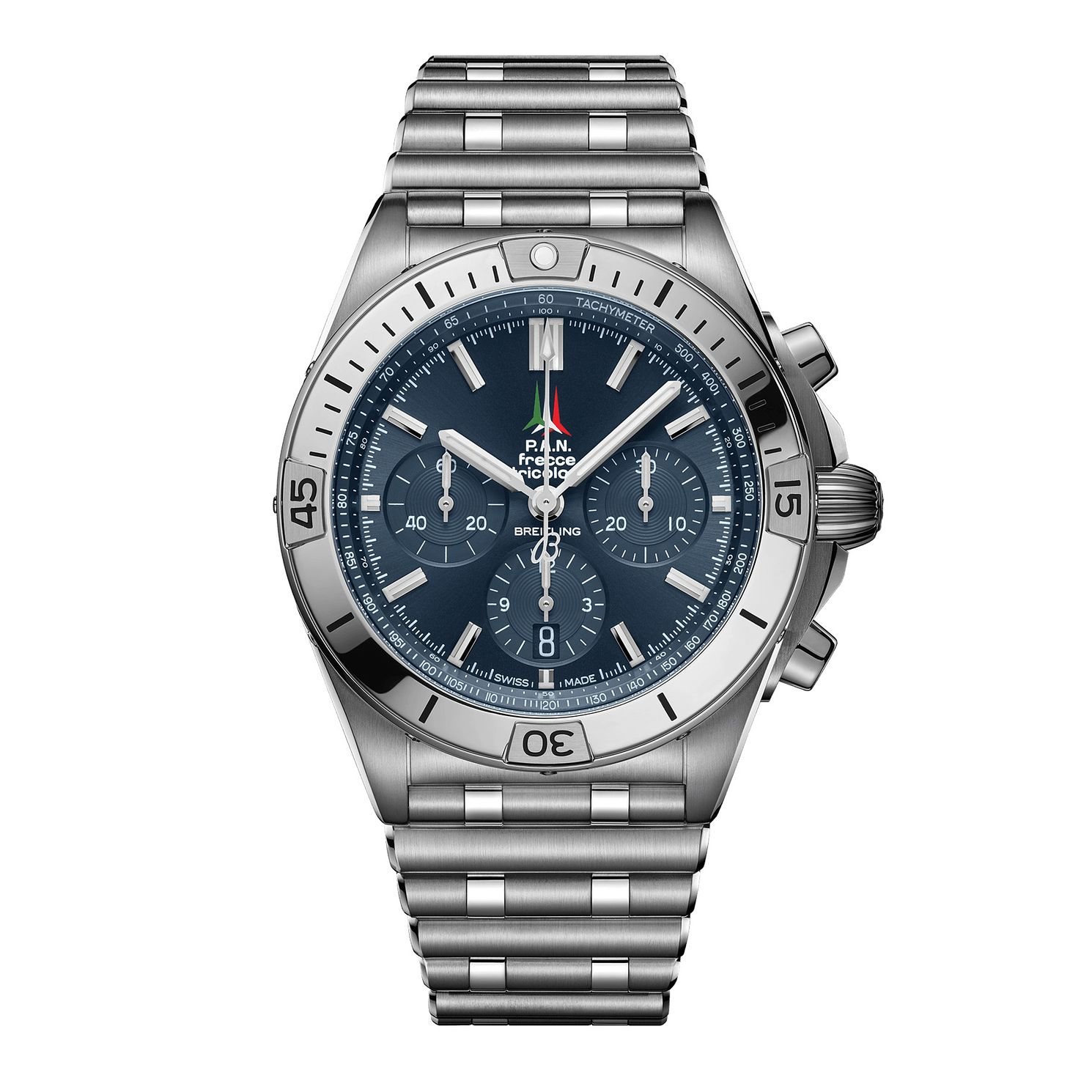 Breitling Chronomat Frecce Tricolori Limited Edition Watch - Product number 3863522