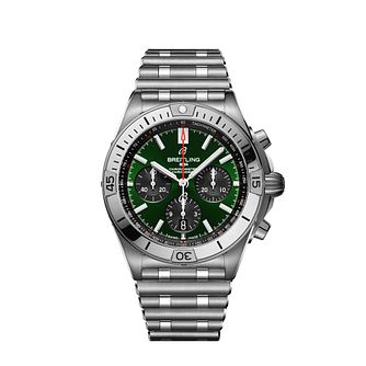 Breitling Chronomat Bentley Stainless Steel Bracelet Watch - Product number 3863573