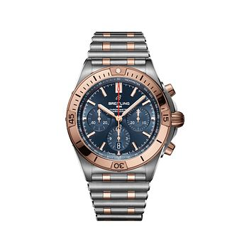 Breitling Chronomat Men's Two Tone Bracelet Watch - Product number 3863638