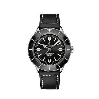 Breitling Superocean Heritage '57 Men's Leather Strap Watch - Product number 3863727